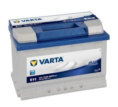 Varta 74Ah 5740120683132 akkumulátor