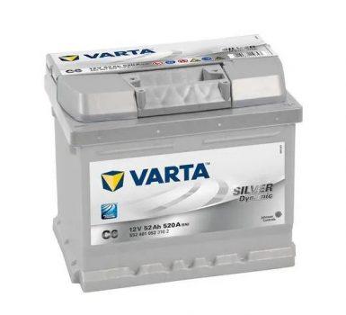 Varta 52Ah 5524010523162 akkumulátor