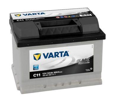 Varta 53Ah 5534010503122 akkumulátor