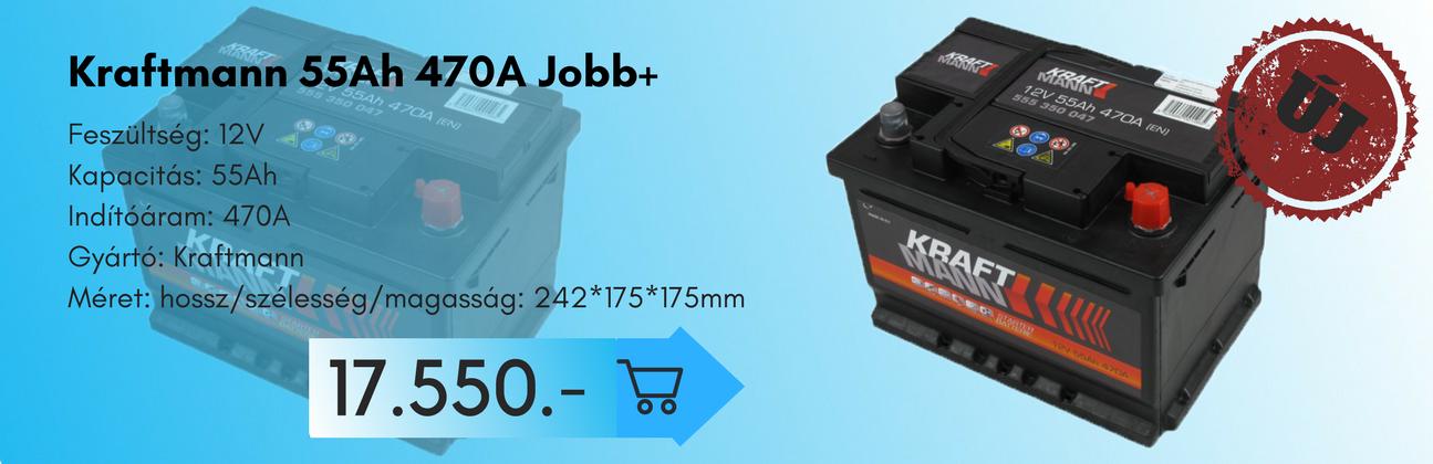 Kraftmann 55Ah